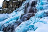 Cascata di ghiaccio - Valle Stura - Cuneo - Piemonte