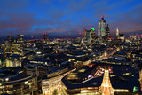 Fototapeta Londyn - London skyline at night © tom