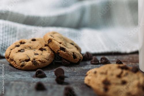 Sticker Hot Chocolate Cookies