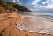 goldener Strand in Griechenland