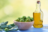 Olives and olive oil - 243208618