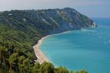 Mezzavalle Beach on Italian Adriatic coast - 243210231