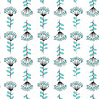 Texture with flowers and plants. Floral ornament. Original flowers pattern. - 243212814