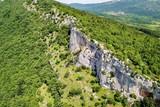 Karst formation in Slovenia
