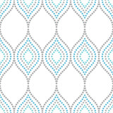 Seamless vector dotted ornament. Modern background. Geometric modern pattern - 243257608