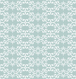 Orient vector classic pattern. Seamless abstract background with vintage elements. Orient light blue and white background. Ornament for wallpaper and packaging - 243258221