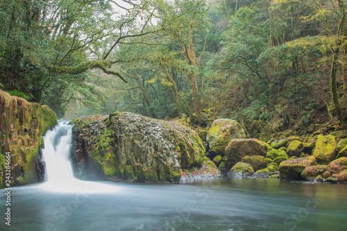 菊池渓谷 黎明の滝 熊本県菊池市・阿蘇市 日本