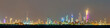 Leinwanddruck Bild - Night skyline of Kuwait City