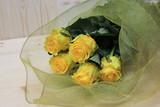 Букет красивых желтых роз.  - 243303038