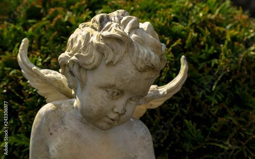 Skulptur Steinengel - 243306077