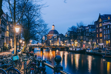 Amsterdam, pays bas © Laura