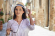 travel guide, tourism in Europe, woman tourist
