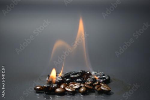 Palona kawa - ogniste jedzenie