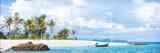 Asian tropical beach paradise in Thailand - 243349896