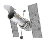 Hubble Space Telescope Isolated - 243351672