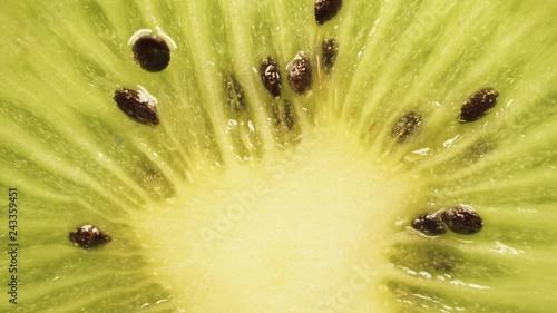 Juicy kiwi fruit close up