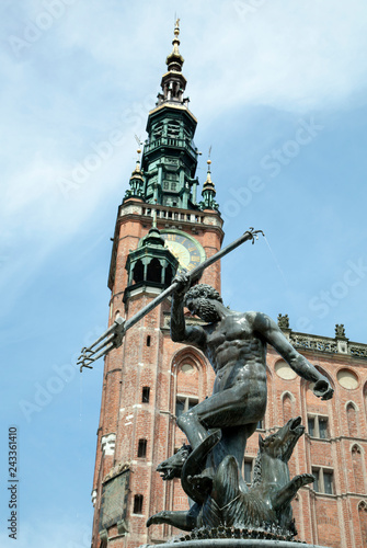 Neptune and Gdansk Town Hall