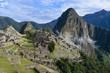 Vista tradicional de Machu Picchu