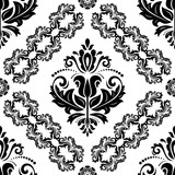 Orient classic pattern. Seamless abstract background with vintage elements. Orient black and white background - 243374453