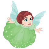 Beautiful little fairy girll