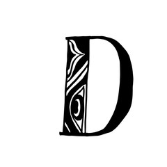 Vector hand drawn typeface © bastinda18