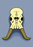 Cráneo elefante  - 243410633