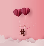 Concept of Love and Valentine day - 243420878