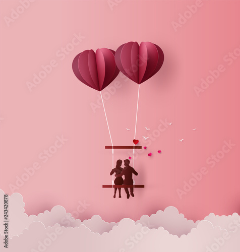 Concept of Love and Valentine day
