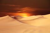 sand dunes in desert - 243425611
