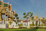 Buddhist temples in Bangkok, Thailand - 243425863