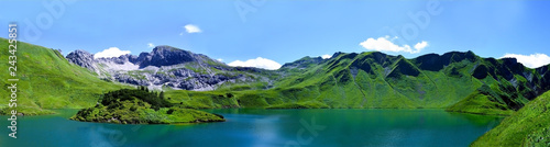 lake in the mountains - 243425851