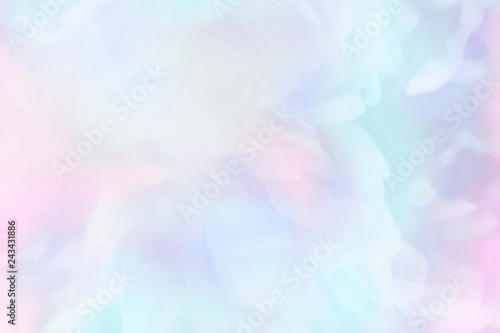 Vibrant blue watercolor painting background - 243431886