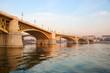 Budapest, Hungary, Margaret Bridge. Margaret bridge is one of the oldest bridges in Budapest.