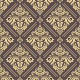 Orient vector classic pattern. Seamless abstract background with golden vintage elements. Orient background. Ornament for wallpaper and packaging - 243448033
