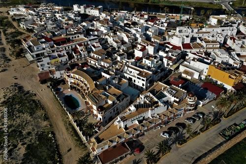Foto Murales Zahara de los Atunes in Andalusien aus der Luft