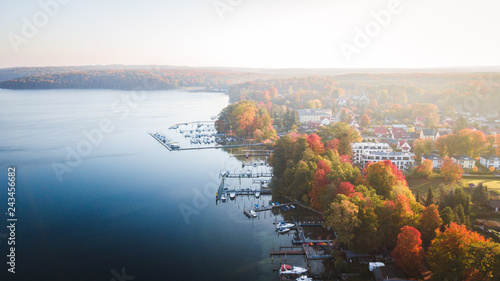 Foto Murales Herbst Sonnenaufgang