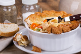 Delicious Chicken and Vegetable Pot Pie - 243488817