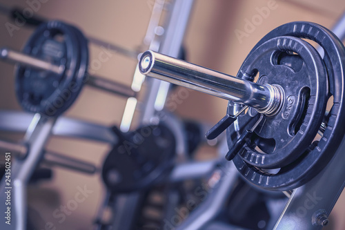 Sticker gym room