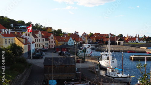 Gudhjem harbor, Bornholm, Denmark