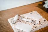Rose quartz facial roller and gua sha beauty firming tools - 243528609