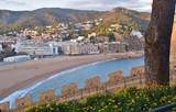 Spiaggia di Tossa de mar in Catalogna