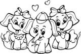 Wesołe słoniki
