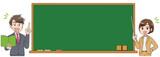 教師 先生 黒板 - 243580228