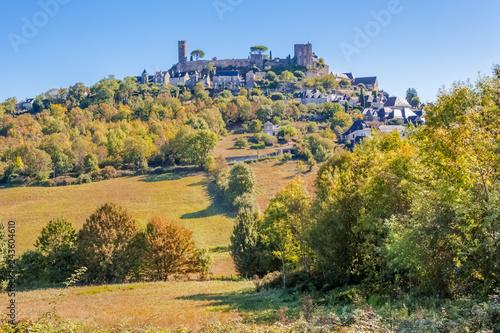 mata magnetyczna village perché de Turenne en Corrèze, France