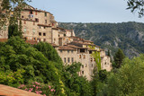 The beautiful hilltop village of Peillon in the Alpes-Maritime department of southeastern France - 243610245