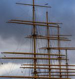 Viermastbark Schiffsmasten - 243618075