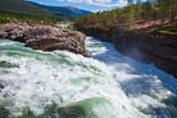Donfoss waterfall Otta river Skjak Oppland Norway Scandinavia
