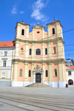 Bratislava. Church of the Holy Trinity (Trinitarian Church)