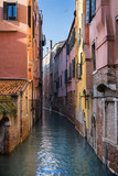 Water streets in Venice, Italy.