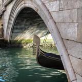 Gondola on Canal Venice, Italy. - 243678003